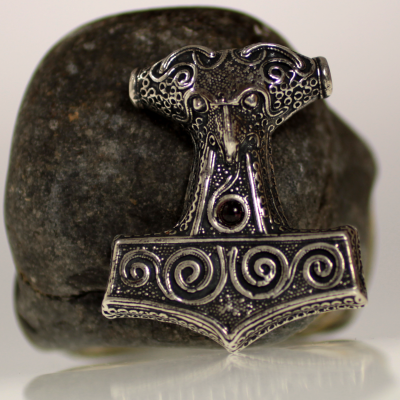 Silver Thor's hammer