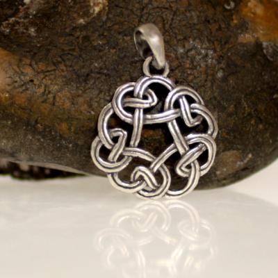 Silver fantasy pendant