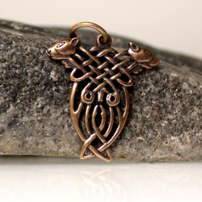 Hounds of Cúchulainn bronze