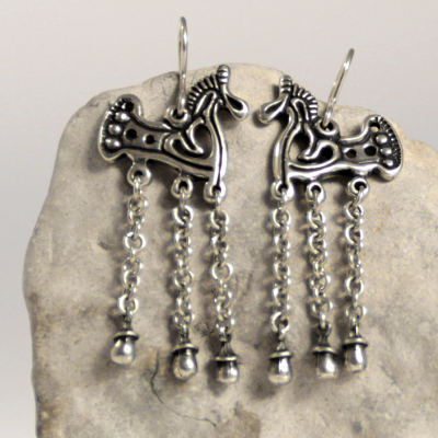 finnougristic earrings