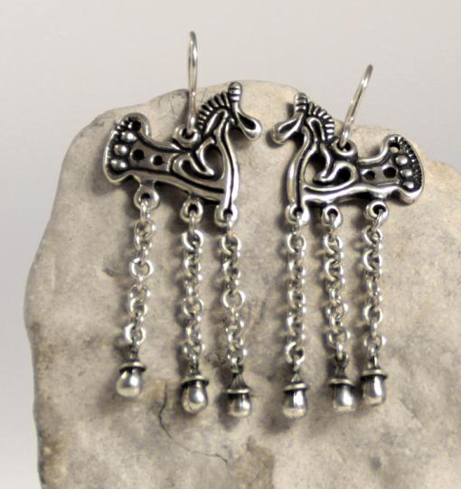 finnougristic earrings