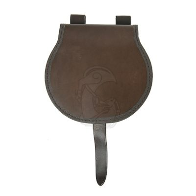 A leather sabertache of hungarian origin. Dated 10century.