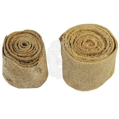 Roll of raw hide
